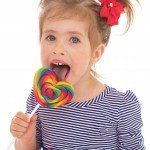 girl with lolipop