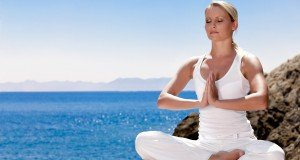 woman mediation pose