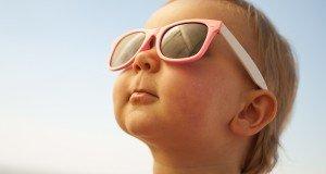 baby in sun