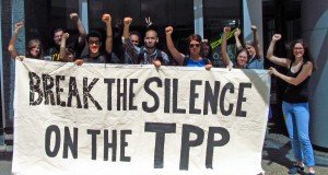 break the silence on tpp