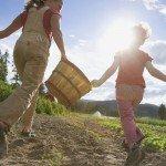 organic farm kids