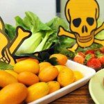 pesticide on food