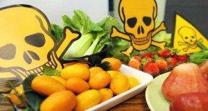 pesticide on food