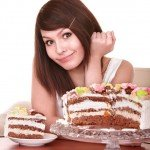 woman-with-cake