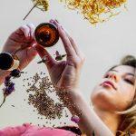 woman-taking-anxiety-fighting-herbs